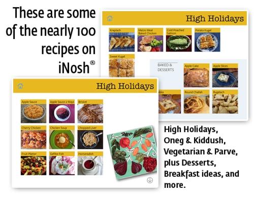 iNosh info